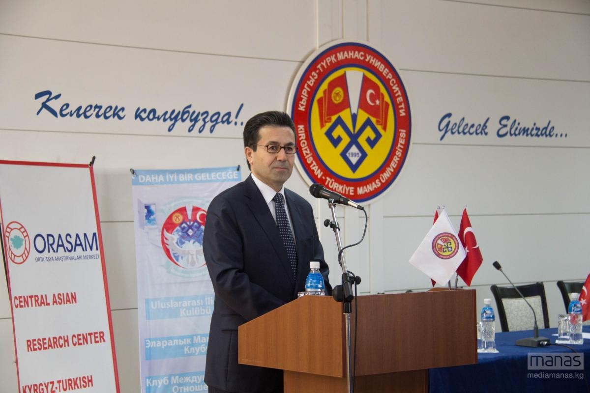 T.C. Bişkek Büyükelçisi Metin Kılıç Öğrencilerle Bir Araya Geldi